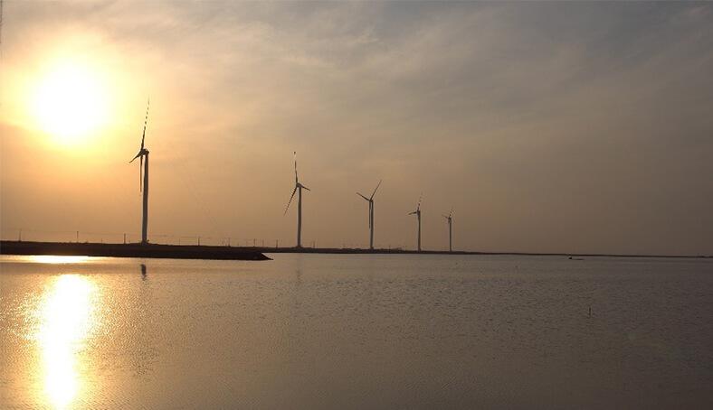 山东滨州鲁萨48MW风电项目