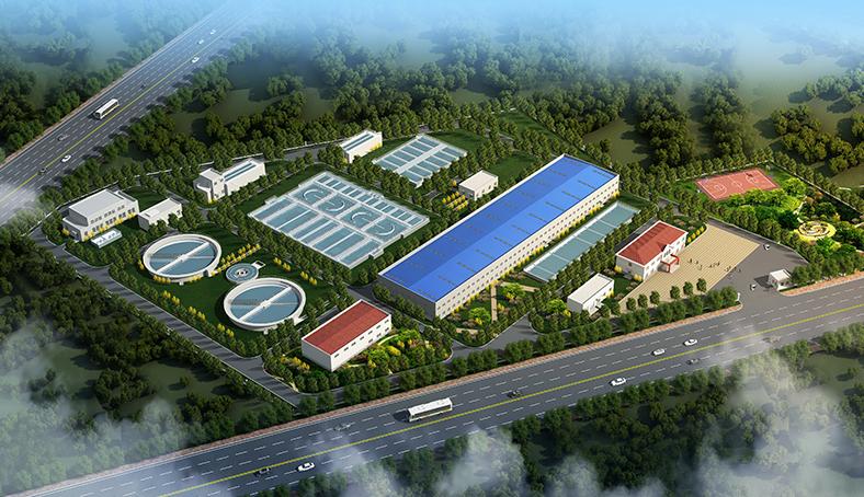 内蒙古土默特右旗新型工业园污水处理厂项目