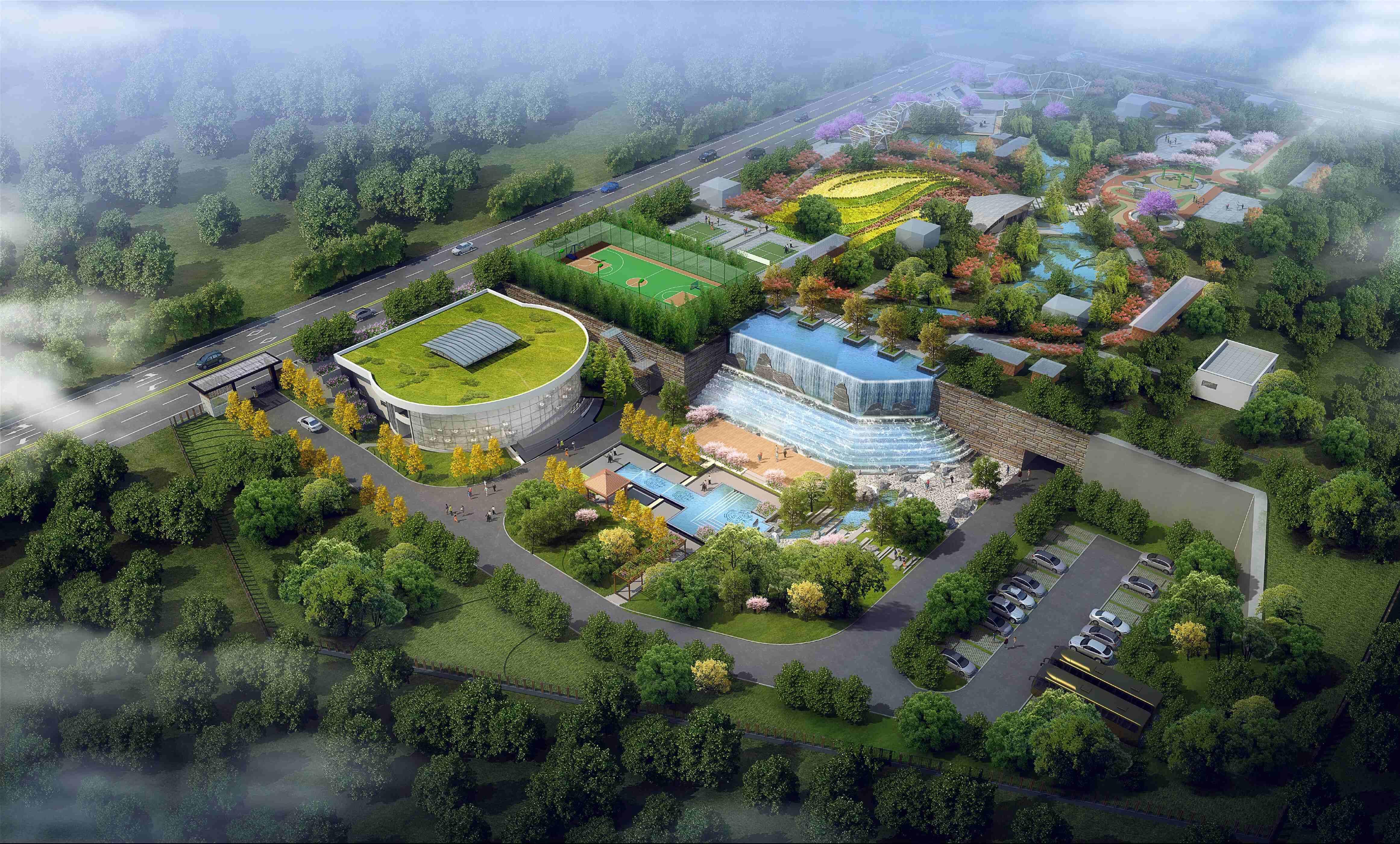 四川省成都市·双流公兴(中电子)地下再生水厂项目
