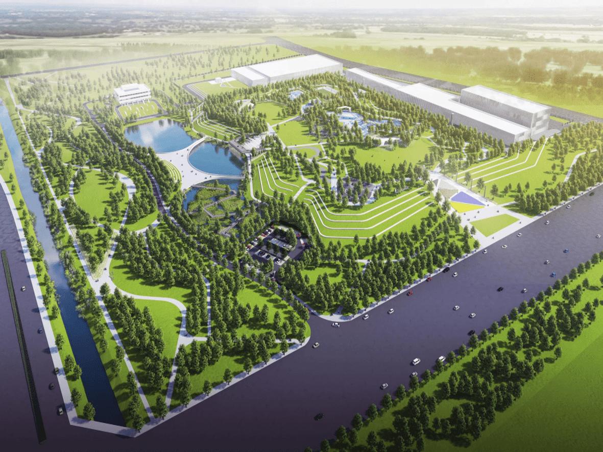 宁夏银川市·第一再生水厂