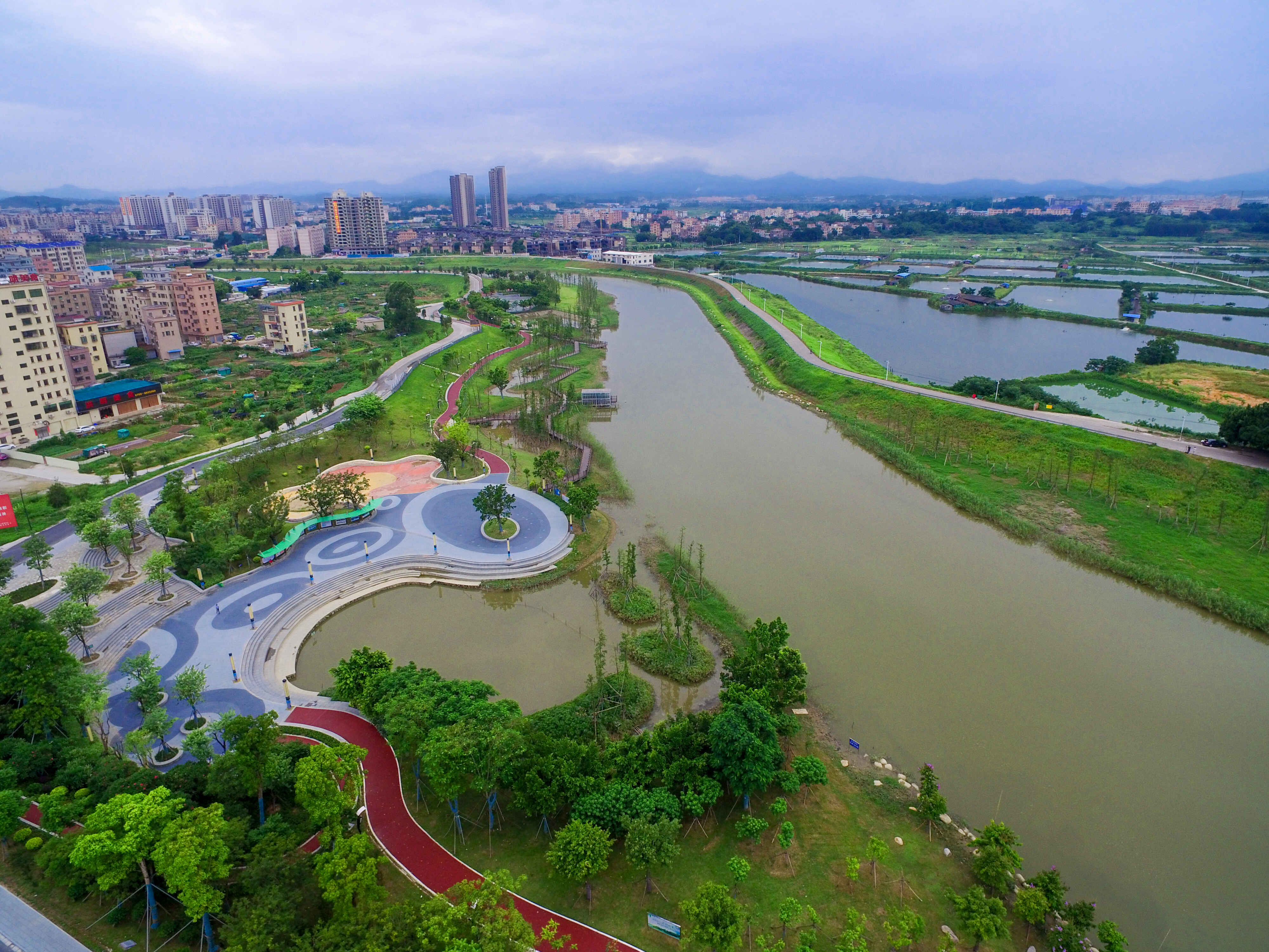 广东省鹤山市·沙坪河综合整治工程项目