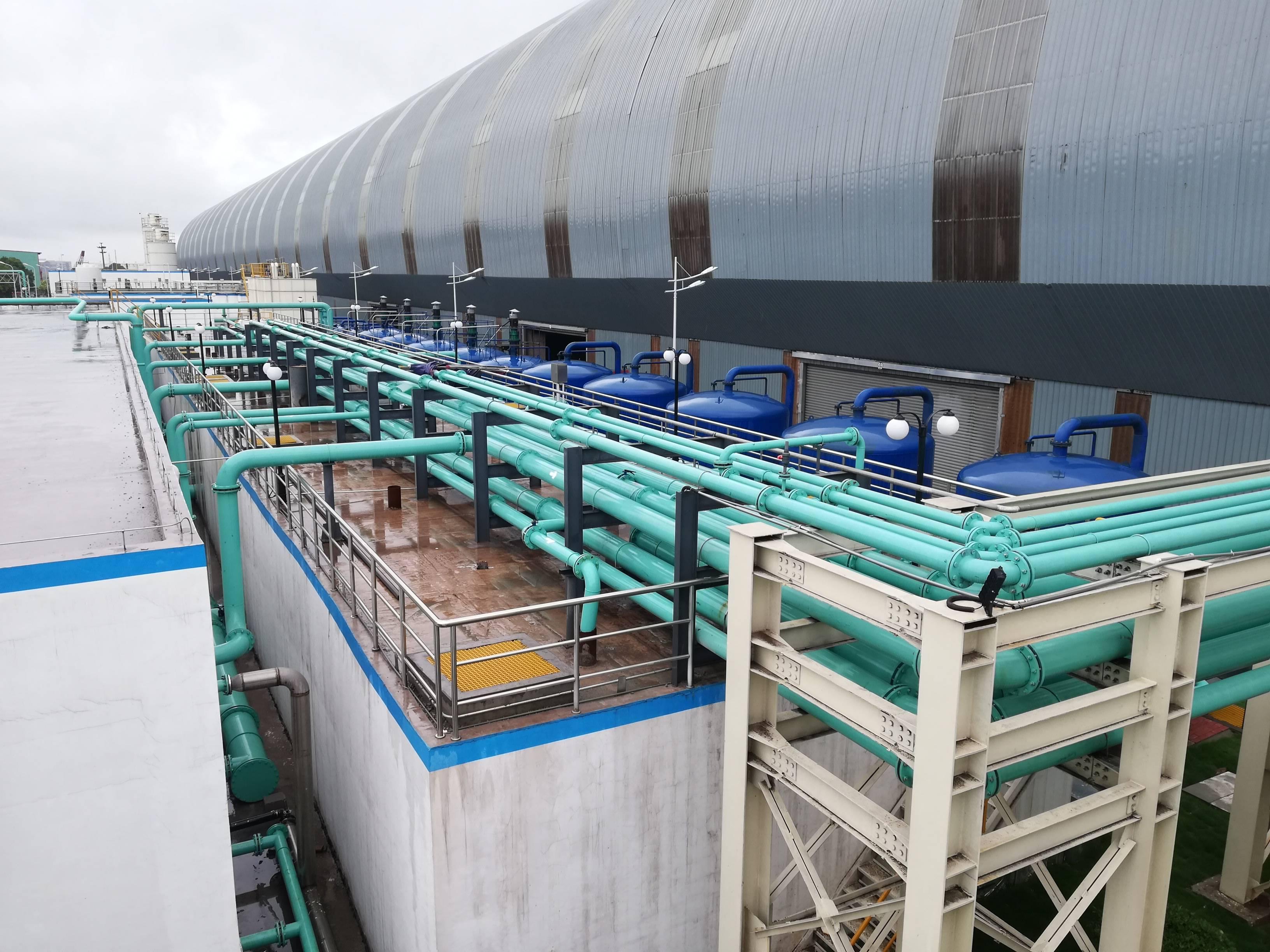 钢铁厂废水处理零排放——江苏申特钢铁有限公司生产废水处理设施项目